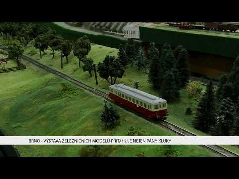 TV Brno 1: 10.11.2017 Výstava železničních modelů přitahuje nejen pány kluky