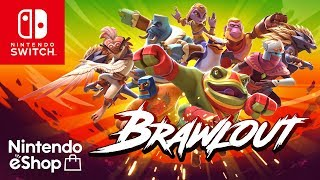 Brawlout for Nintendo Switch releases on December 19 with Juan from Guacamelee