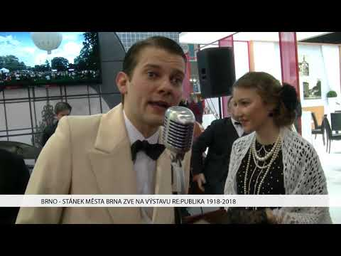 TV Brno 1: 19.1.2017 Stánek Města Brna zve na výstavu RE:PUBLIKA 1918-2018.