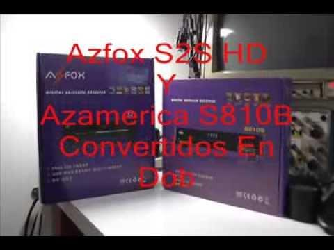 Azfox S2S HD Convertido En Doble tuner