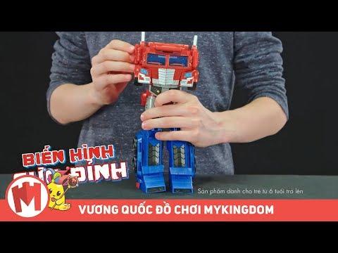 Transformers Đại chiến không gian | Người máy siêu cấp - 30cm - Thời lượng: 46 giây.