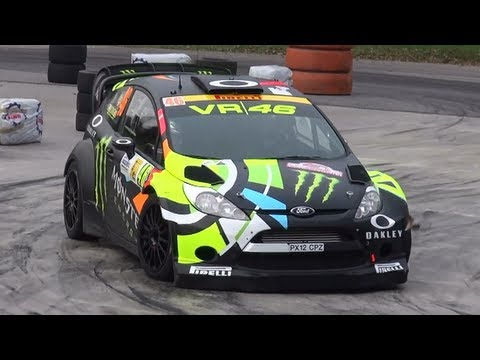 Monza Rally Show 2012 - Show & Pure Sound [HD]