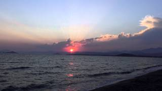 Sony FDR AXP33 Calis Beach Turkey-Beautiful Sunset Timelapse-ultra HD-4k Video