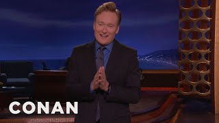 Conan jokes about Trump's Charlottesville statement, Kid Rock's Senate run, and Fox News.More CONAN @ http://teamcoco.com/videoTeam Coco is the official YouTube channel of late night host Conan O'Brien, CONAN on TBS & TeamCoco.com. Subscribe now to be updated on the latest videos: http://bit.ly/W5wt5DFor Full Episodes of CONAN on TBS, visit http://teamcoco.com/videoGet Social With Team Coco:On Facebook: https://www.facebook.com/TeamCocoOn Google+: https://plus.google.com/+TeamCoco/On Twitter: http://twitter.com/TeamCocoOn Tumblr: http://teamcoco.tumblr.comOn YouTube: http://youtube.com/teamcocoFollow Conan O'Brien on Twitter: http://twitter.com/ConanOBrien