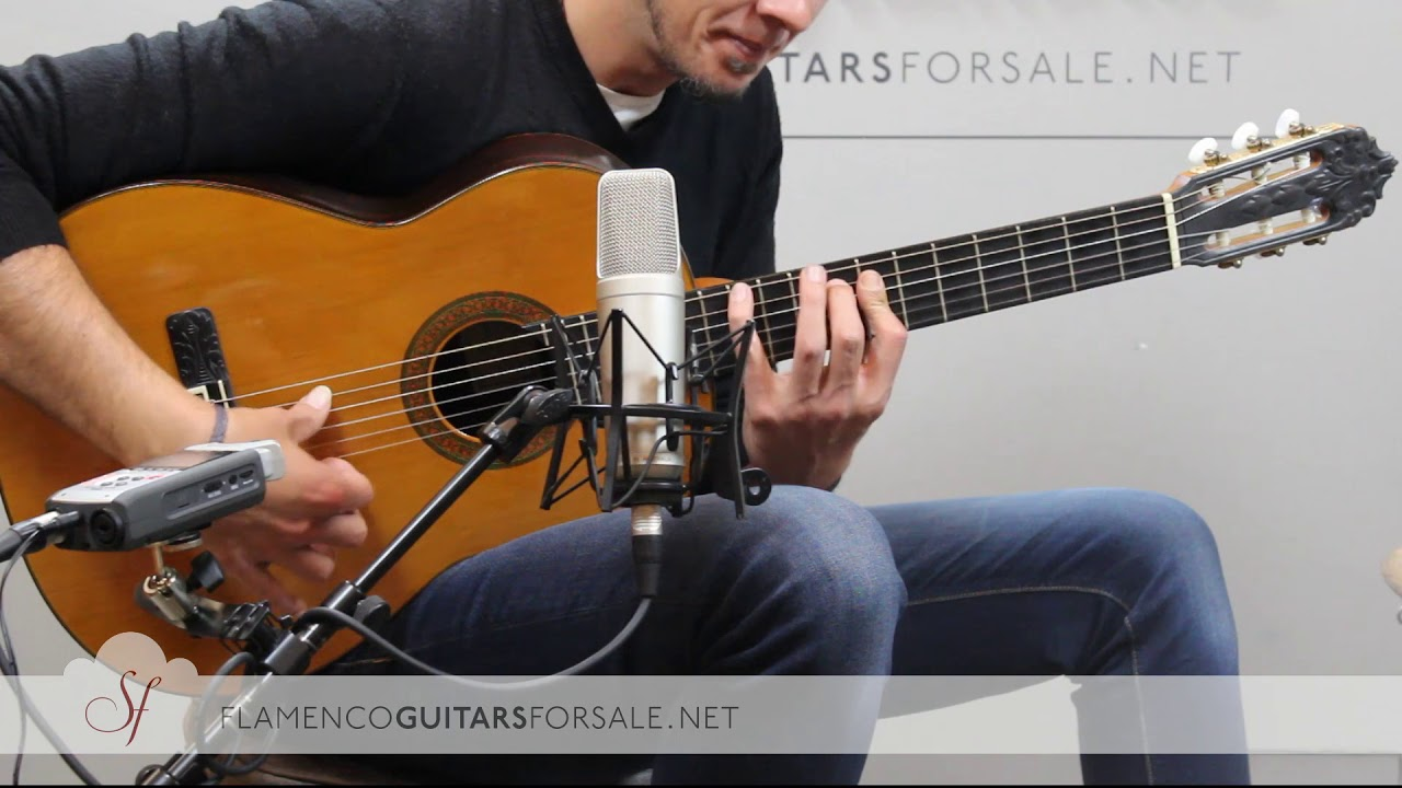 VIDEO TEST: Jerónimo Peña 1984 classical guitar for sale