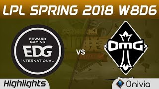 Download Lagu EDG vs OMG Highlights Game 2 LPL Spring 2018 W8D6 Edward Gaming vs OMG by Onivia Mp3