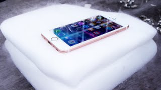 iPhone 6S Inside Dry Ice Experiment!