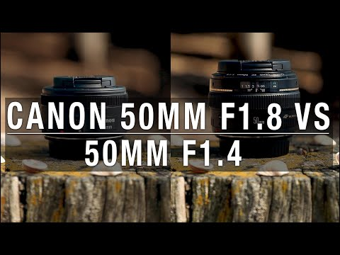 Canon 50mm f1.8 vs 50mm f1.4 - Is it worth the extra money?