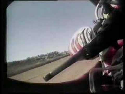on board di eddie lawson su cagiva!