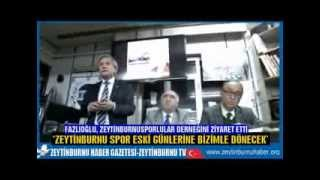 Fazlıoğlu Zeytinburnu Spor Derneğini ziyaret etti,