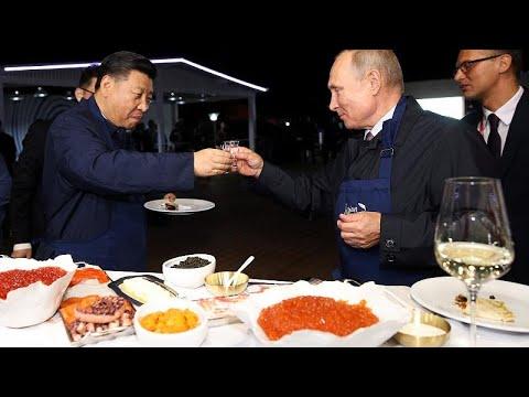 Russland / China: Putin und Xi rücken enger zusammen