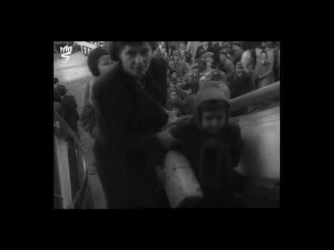 Des enfants juifs embarqués sur le Serpa Pinto à destination des Etats-Unis, Lisbonne, 1943