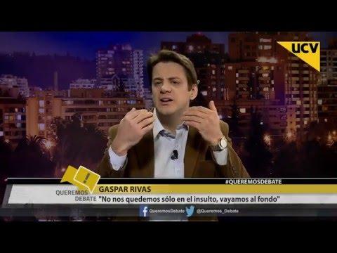 video Gaspar Rivas afirma que renunciará a su fuero en caso que Luksic se querelle contra él
