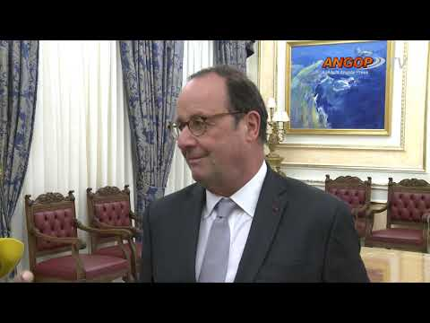François Hollande elogia visão do PR angolano para turismo