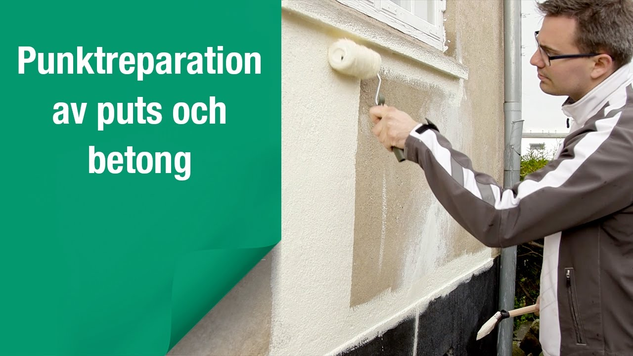 Så här reparerar och målar du ditt murverk