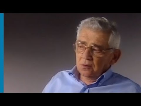 Eliahu Rosenberg, rescapé de la Shoah, témoigne à propos du camp d'extermination de Treblinka