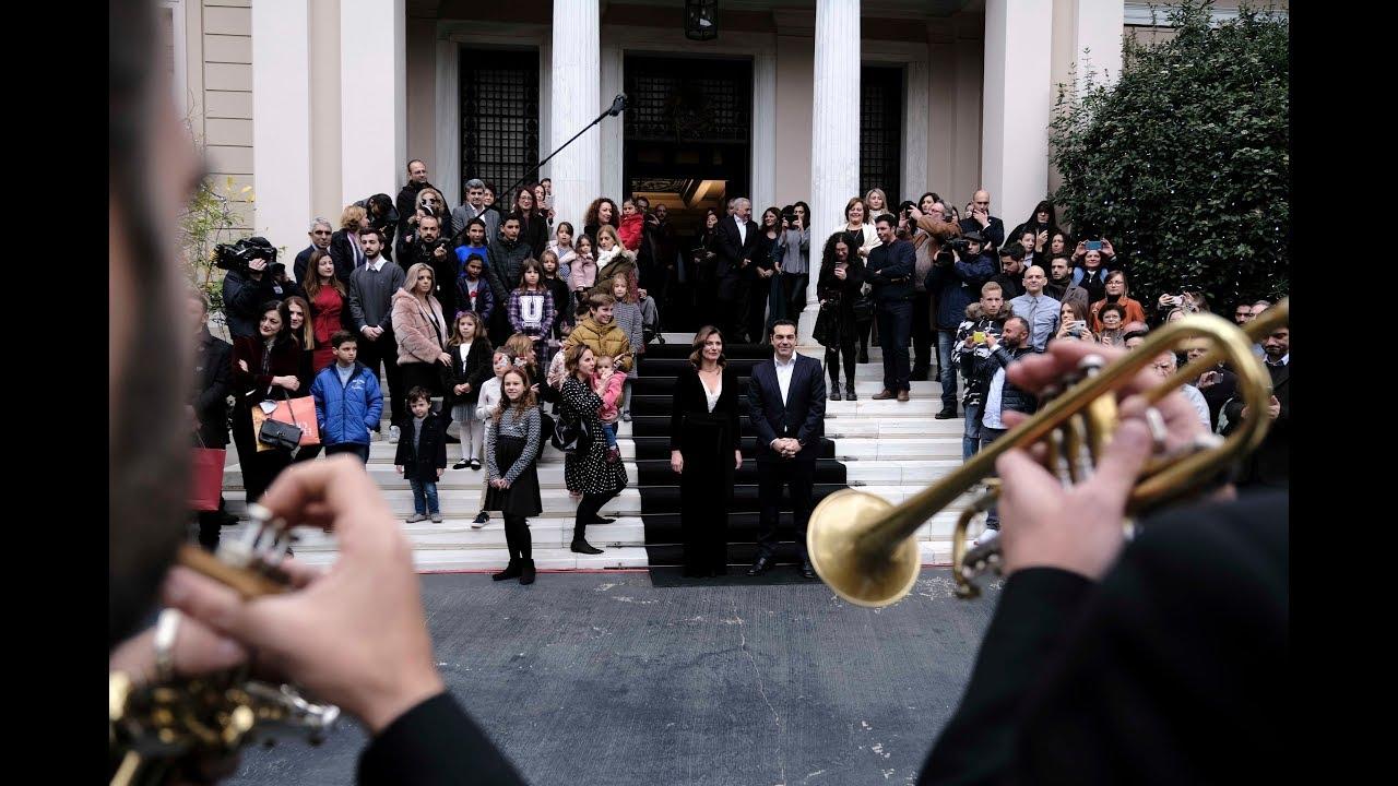 Κάλαντα της Πρωτοχρονιάς από την Κρατική Ορχήστρα Αθηνών METALLON