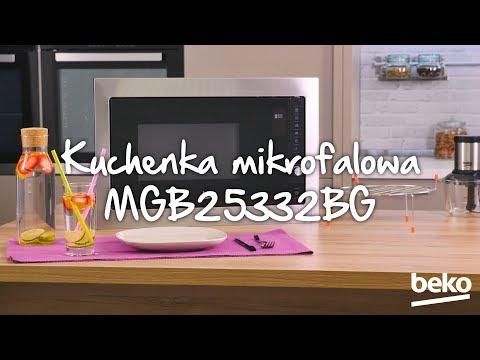 Kuchenka mikrofalowa BEKO MGB25332BG