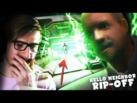 OK.. WHAT'S WITH THIS CREEP?! (oof) || Big Fat Neighbor (Hello Neighbor Rip-Off) (видео)