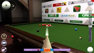 International Snooker 2012 - Snooker Sim- My First Frame W/ Commentary