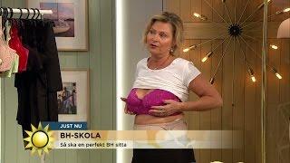 Nyhetsmorgon i TV4 från 2016-04-05: Sju av tio kvinnor har fel behå, BH-proffset Britt-Marie hjälper dig hitta rätt. Nyhetsmorgon är...
