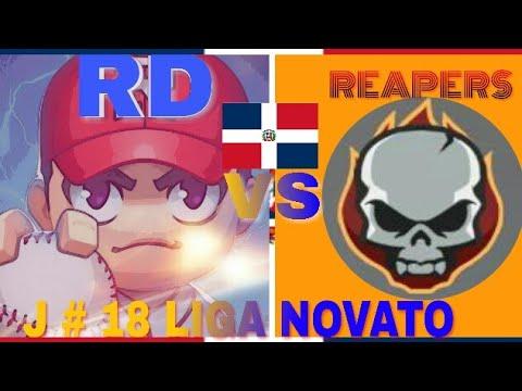 BASEBALL 9 Juego #18 De 42  LIGA NOVATO Challengers vs Reapers GAMEPLAY