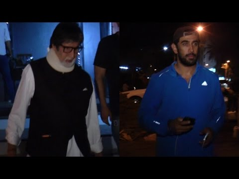 Amitabh Bachchan & Amit Sadh Spotted At Ramu Office To Discuss Promotion Plan