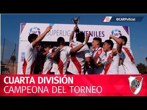Cuarta División, campeona del Torneo de la AFA