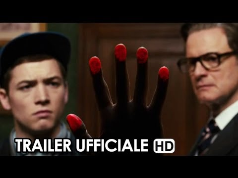 kingsman - secret service - trailer italiano