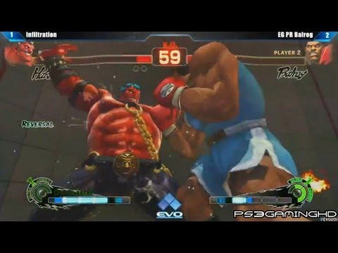 Hakan - EVO 2013 Super Street Fighter 4 Arcade Edition Top 8 Losers Semi Finals: Infiltration (Akuma/Hakan) vs PR Balrog (Balrog)