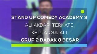 Video Stand Up Comedy Academy 3 : Ali Akbar, Ternate - Keluarga Ali MP3, 3GP, MP4, WEBM, AVI, FLV Desember 2017