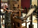 Demonstration of the Gutenberg printing press at the International Printing Museum in Carson, California at 315 Torrance Blvd. Article to go along with this ...