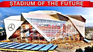 """Atlanta's Mercedes-Benz Stadium is the most expensive stadium ever built. The $1.6 billion price tag was driven by a spectacular retractable roof design, an LED video board that is by far the world's largest, and the pursuit of LEED platinum certification.Subscribe to TDC: https://www.youtube.com/TheDailyConversation/More info:http://mercedesbenzstadium.com/mercedes-benz-stadium/https://en.wikipedia.org/wiki/Mercedes-Benz_StadiumVideo by Bryce Plank and Robin WestMost videos courtesy of Mercedes Benz stadium/Atlanta FalconsMusic:""""Abysmal"""" by Open Ocean""""Hero Theme"""" by MK2""""Phife for Life"""" by Otis McDonald""""Staccato"""" by Vibe TracksScript:Which sport do you think will be played in the most expensive stadium ever built? If you said American football, you're right.This is the story of Atlanta's $1.6 billion Mercedes Benz Stadium that's set to open by the end of the summer. It will be home to the world's most spectacular roof and will be the first NFL stadium to achieve the highest certification in Leadership in Energy and Environmental Design.""""For a roof to open in this fashion, with eight petals that actually move in a straight line, we can't find another precedent ever in the world."""" The roof was inspired by the oculus in the ancient Roman Pantheon and takes the retractable concept to a whole other level. The first retractable roof in a major sports venue was Civic Arena — home to the Pittsburgh Penguins — and the first large stadium to have a ceiling that opened to the stars was Toronto's SkyDome. Not only will Mercedes Benz have the most complex roof ever constructed, but it's ridiculous 58-foot-tall halo video board will be three times larger than the one in Jacksonville, the reigning king of LED displays.The project also landed the city the Atlanta United, an MLS expansion franchise that began play this year. Mechanized curtains will cover the upper deck during matches, providing the more intimate feel common to other MLS venues.This entire stadium effort doubles dow"""