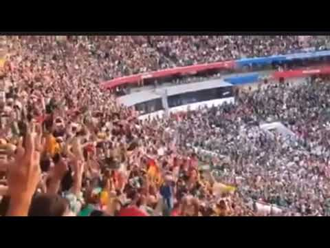 BTS-FAKE LOVE & EXO-POWER WERE PLAYED IN FIFA WORLD CUP2018 FINAL