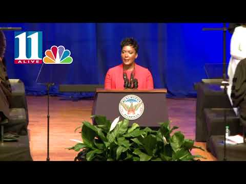 Keisha Lance Bottoms' first speech as Atlanta's mayor; full length