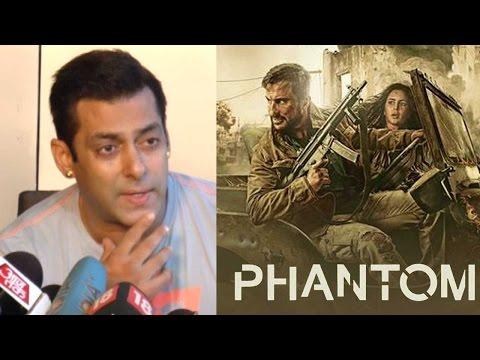 Salman Khan Reacts On Katrina Kaif's Phantom Banne