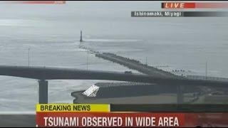 Miyagi Japan  city photo : Tsunami Hits Miyagi Japan 2016 - Earthquake Fukushima Japan 2016 Footage