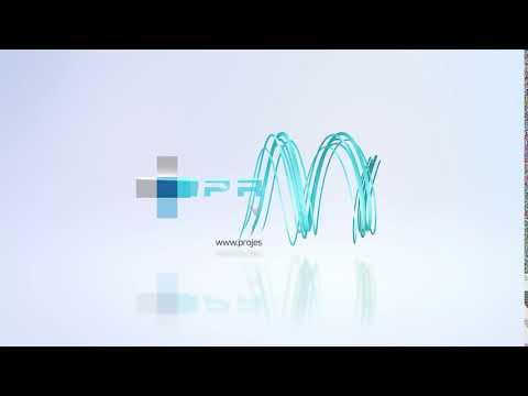 Projes Profesyonel Apartman ve Site Yönetimi Logo Video İntro