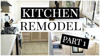 Kitchen Remodel Part 1 | Kendra Atkins