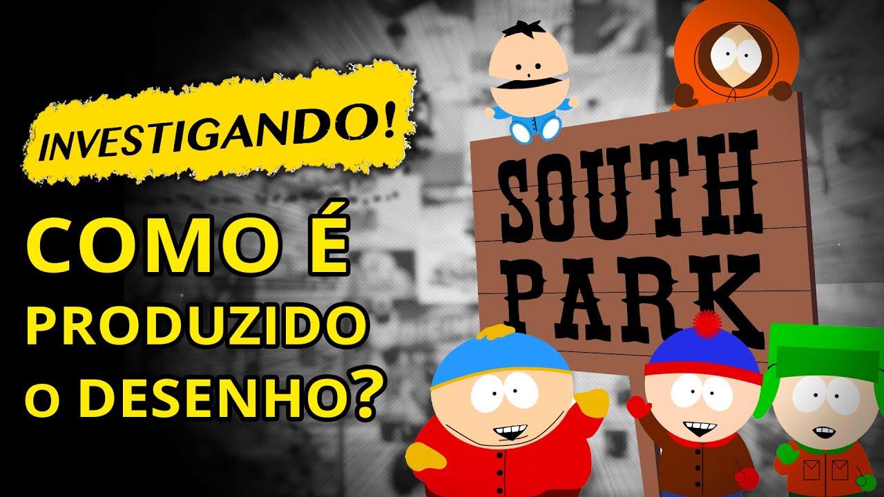 Como é produzido South Park?