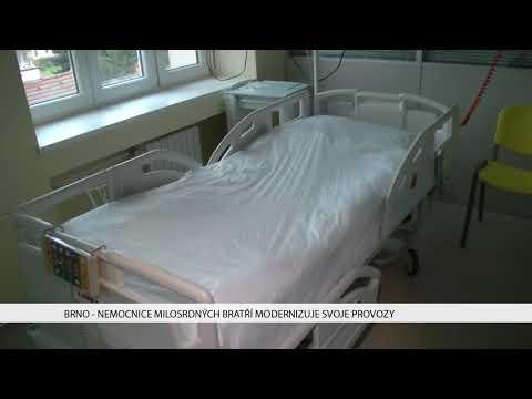 TV Brno 1: 30.11.2017 Nemocnice Milostrdných bratří modernizuje svoje provozy
