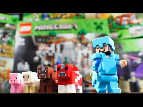 LEGO - We were sent all six of the new Minecraft Lego sets that are coming out in November. The Sets Are: The Cave - 21113 The Farm - 21114 The First Night - 21115 ...