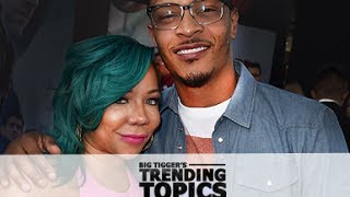 "T.I Calls Tiny Out On Her ""Cheating"" : The Big Tigger Show"