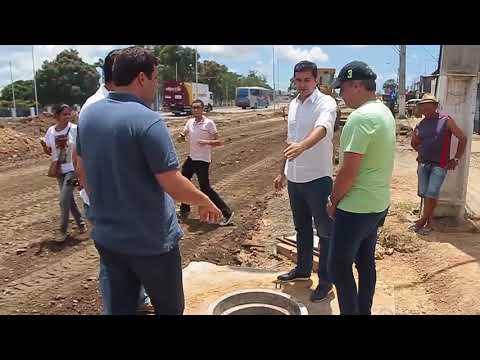 Prefeito Rui Palmeira vistoria reurbanização na BR-316