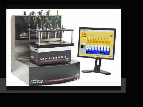 Hydrogenation and Catalyst Screening with HEL's HP ChemSCAN