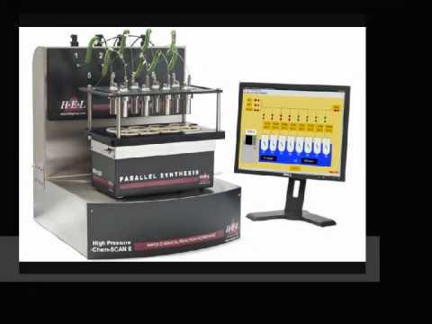 Paralleles Katalyator-Screening und Hydrierung mit HEL's HPChemSCAN