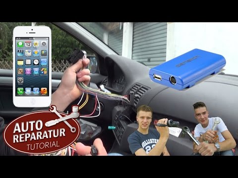 Freisprechanlage nachrüsten | Gateway Bluetooth MP3 USB AUX | retrofit hands free | Auto Tutorial