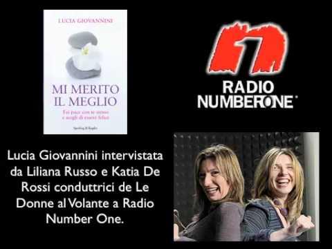 """Lucia Giovannini presenta """"Mi Merito il Meglio"""" a Radio Number One"""