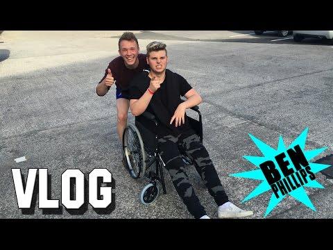 Ben Phillips | VLOG - I just snapped my leg!!!