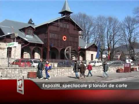 Expoziţii, spectacole şi lansări de carte